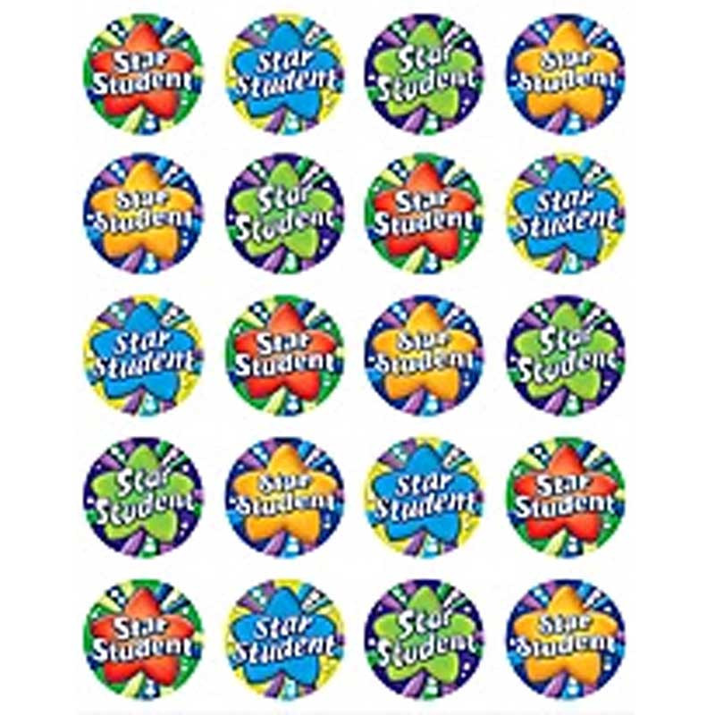 TCR5751 - Star Student Stickers 120 Stks in Stickers