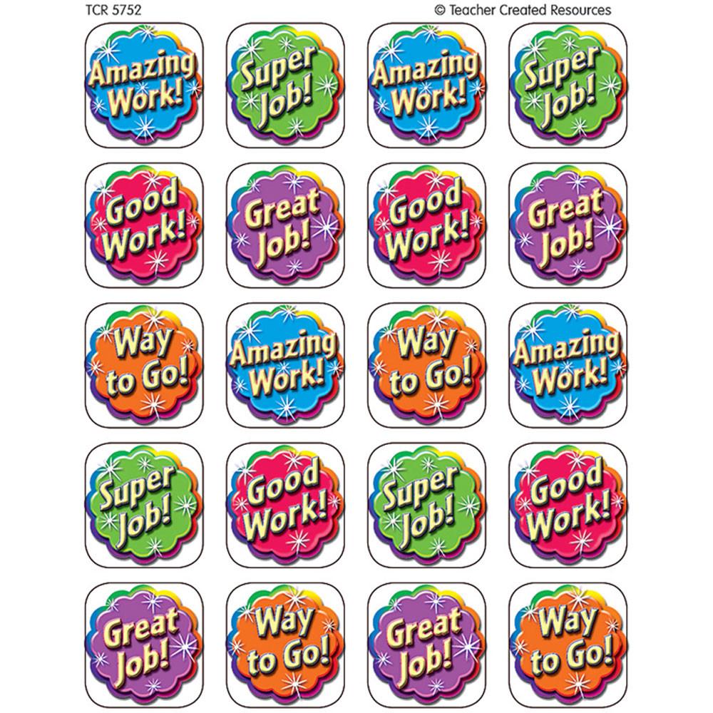 TCR5752 - Good Work Stickers 120 Stks in Stickers
