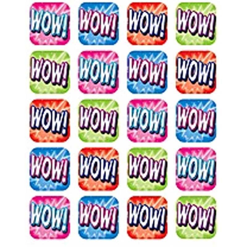 TCR5754 - Wow Stickers 120 Stks in Stickers