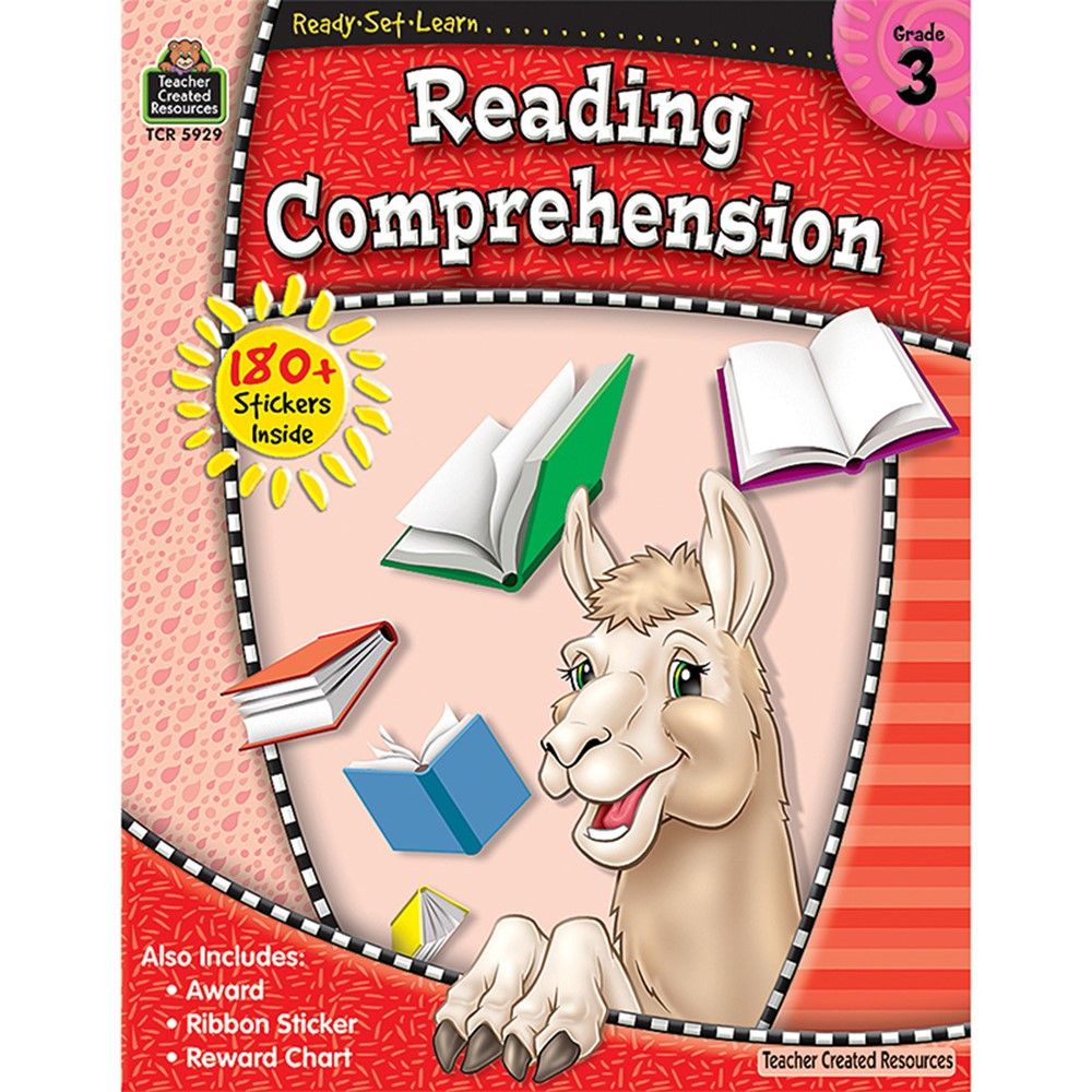 TCR5929 - Rsl Reading Comprehension Gr 3 in Activities