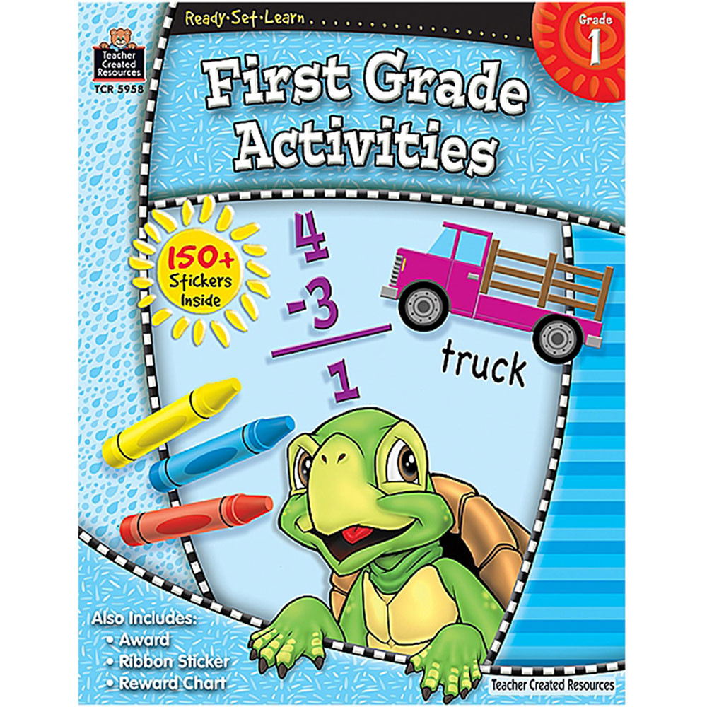 TCR5958 - Ready Set Learn First Grade Activities in Skill Builders