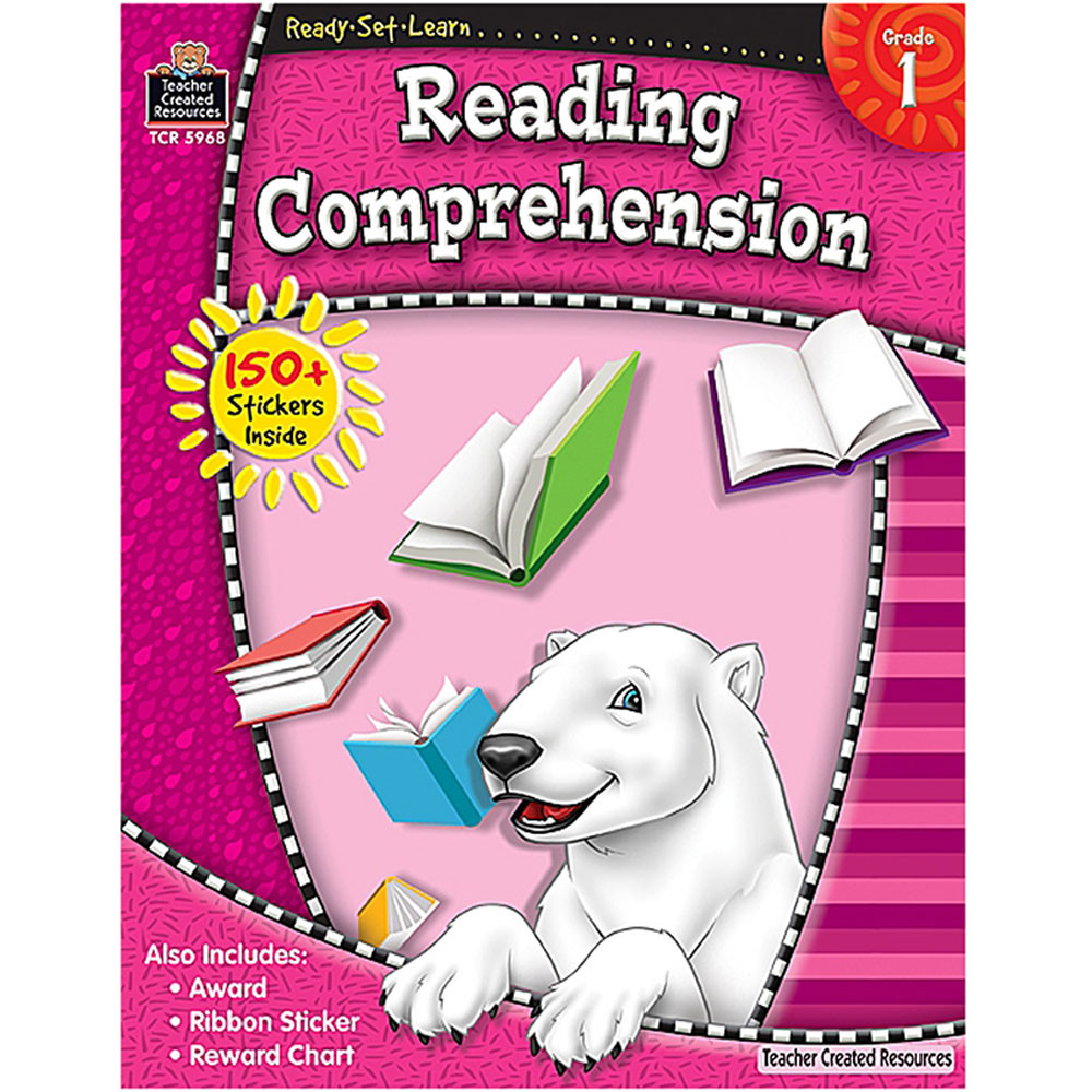 TCR5968 - Ready Set Lrn Reading Comprehension Gr 1 in Comprehension