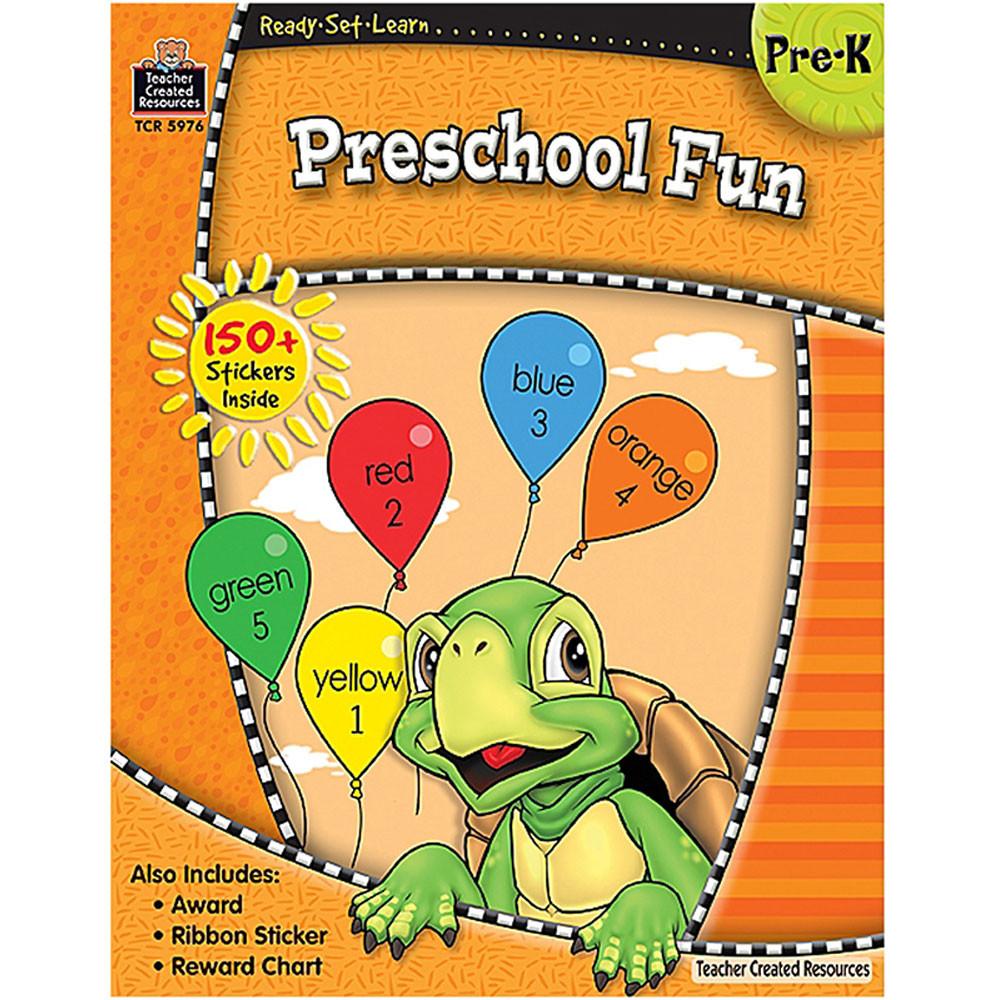 TCR5976 - Ready Set Learn Preschool Fun Gr Pk in Skill Builders