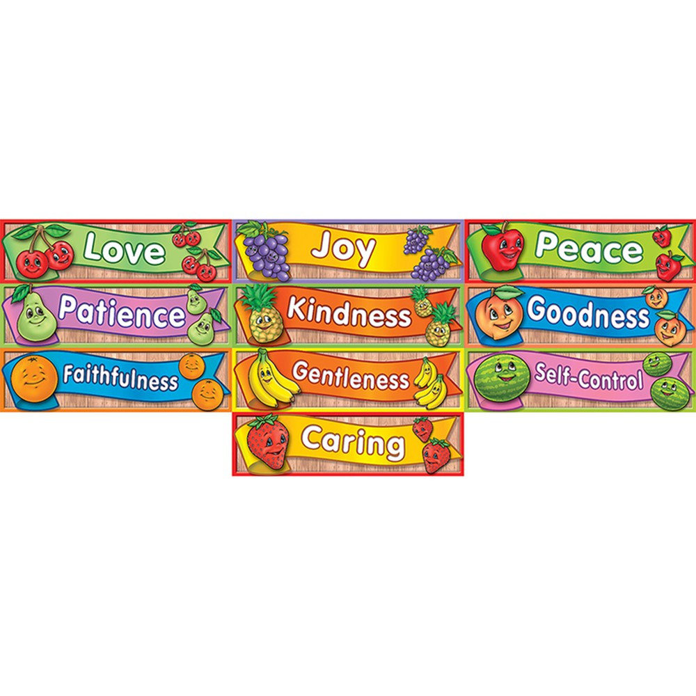 TCR7075 - Headliners Fruit Of The Spirit in Accents