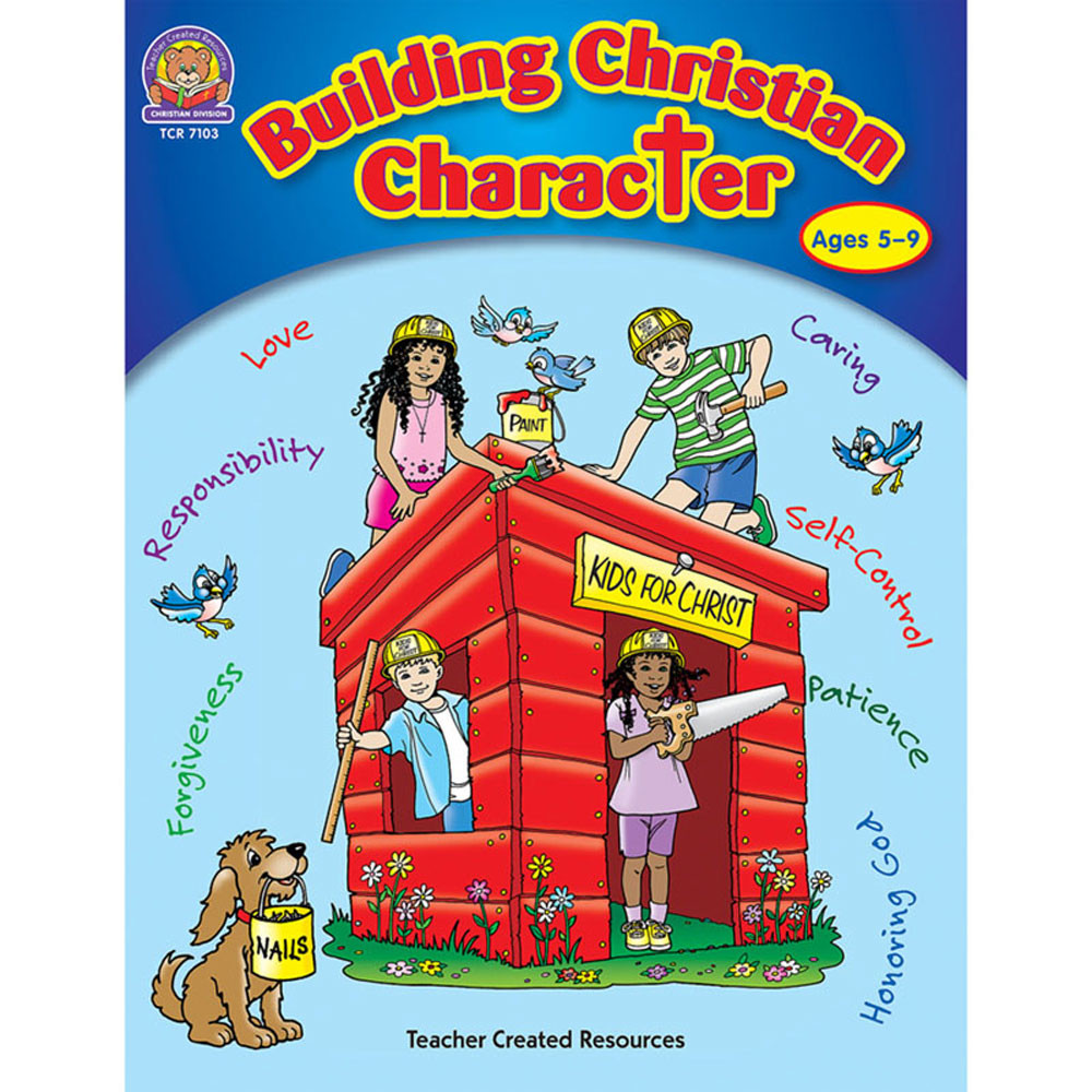 TCR7103 - Building Christian Character 5-9 in Inspirational