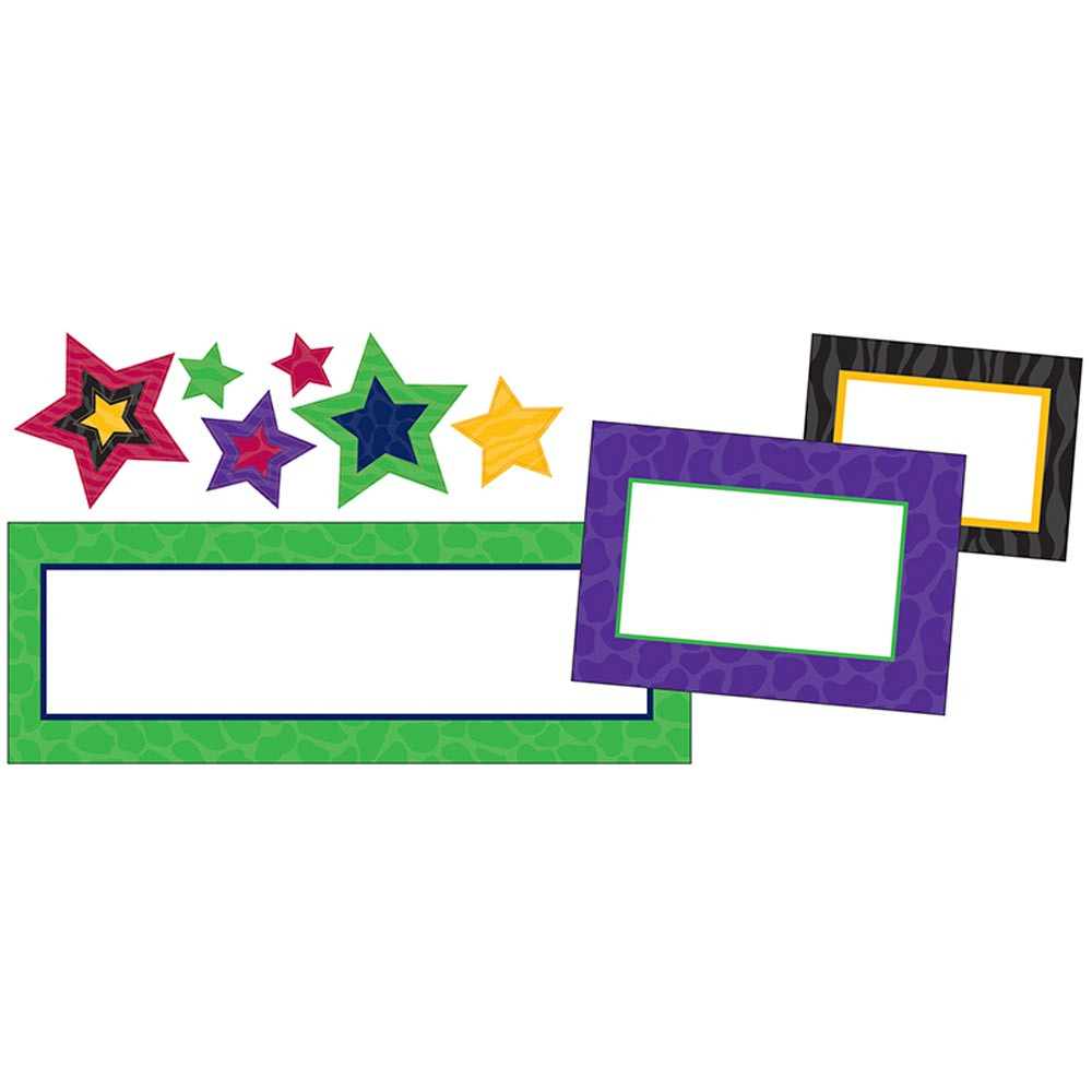 TCR74551 - Create & Decorate Sassy Animal Stars in Accents