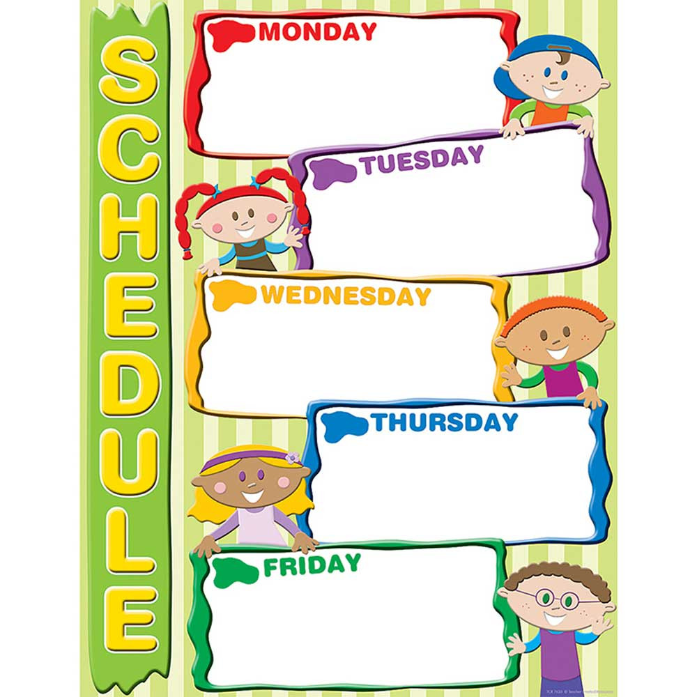 TCR7630 - Schedule Chart in Miscellaneous
