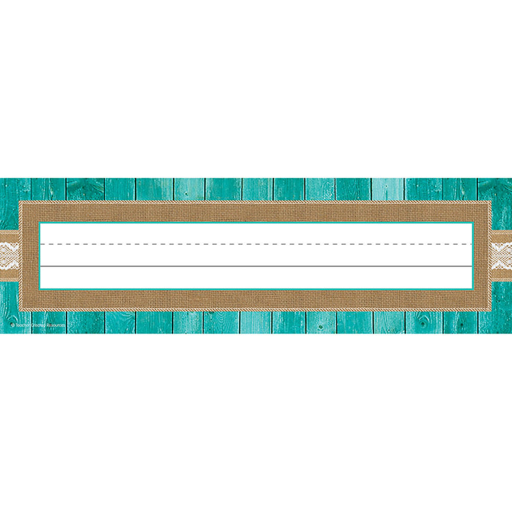 TCR77194 - Shabby Chic Flat Name Plates in Name Plates
