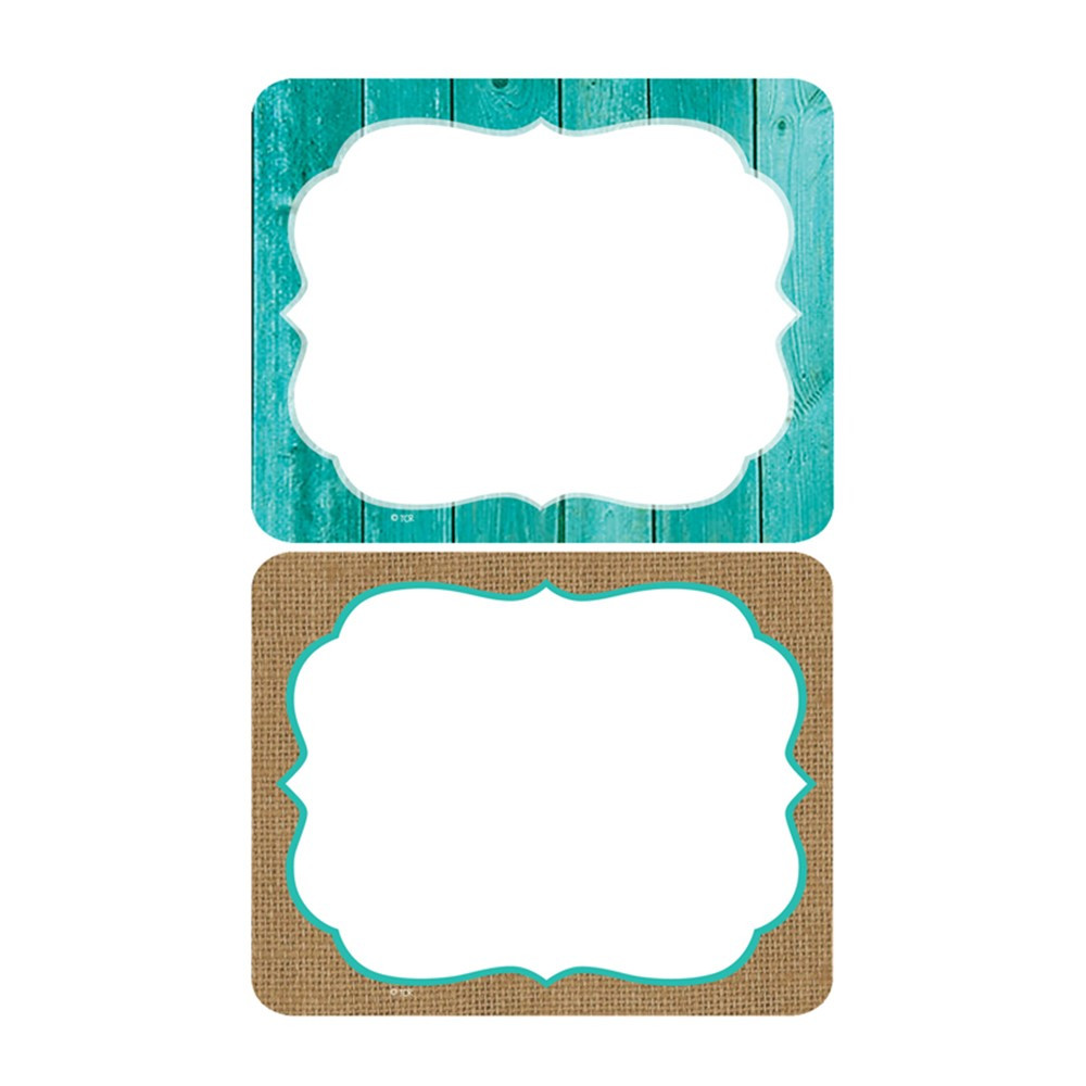 TCR77195 - Shabby Chic Name Tags Labels in Name Tags