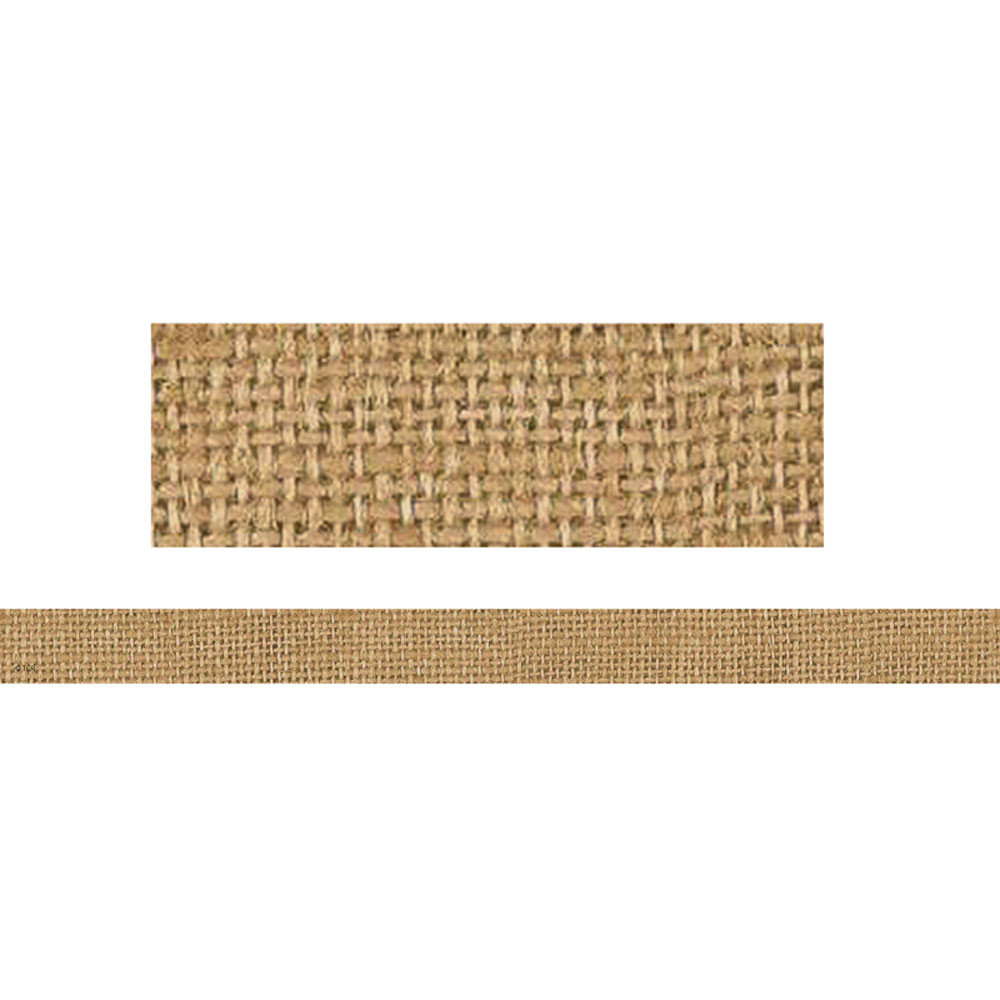 TCR77336 - Clingy Thingies Burlap Strips in Border/trimmer