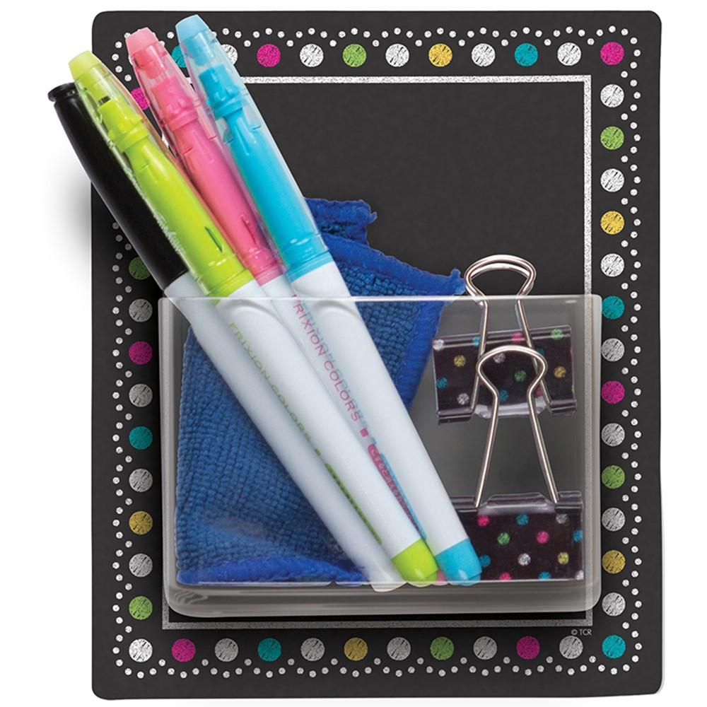TCR77377 - Clingy Thingies Storage Pocket Chalkboard Brights in Organizer Pockets