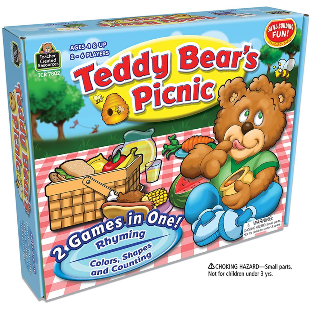 TCR7802 - Teddy Bears Picnic Game in Games
