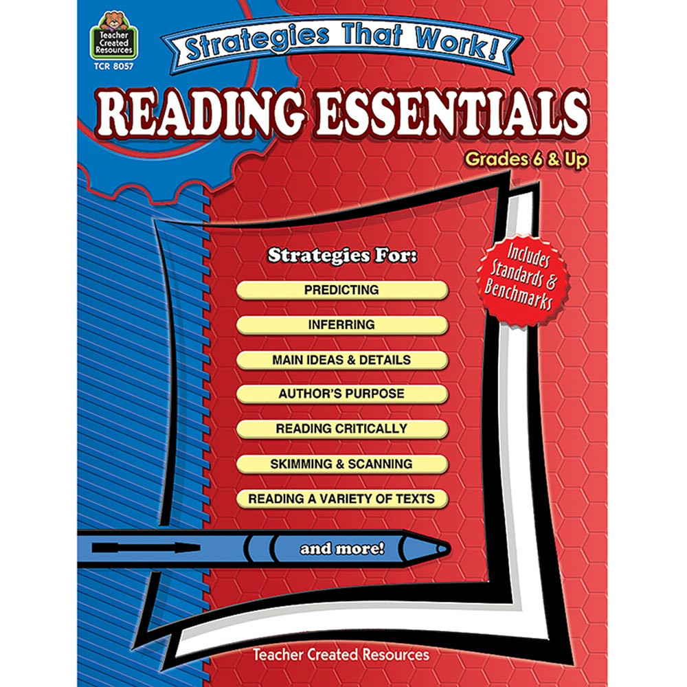 TCR8057 - Strategies That Work Reading Essent in Reading Skills