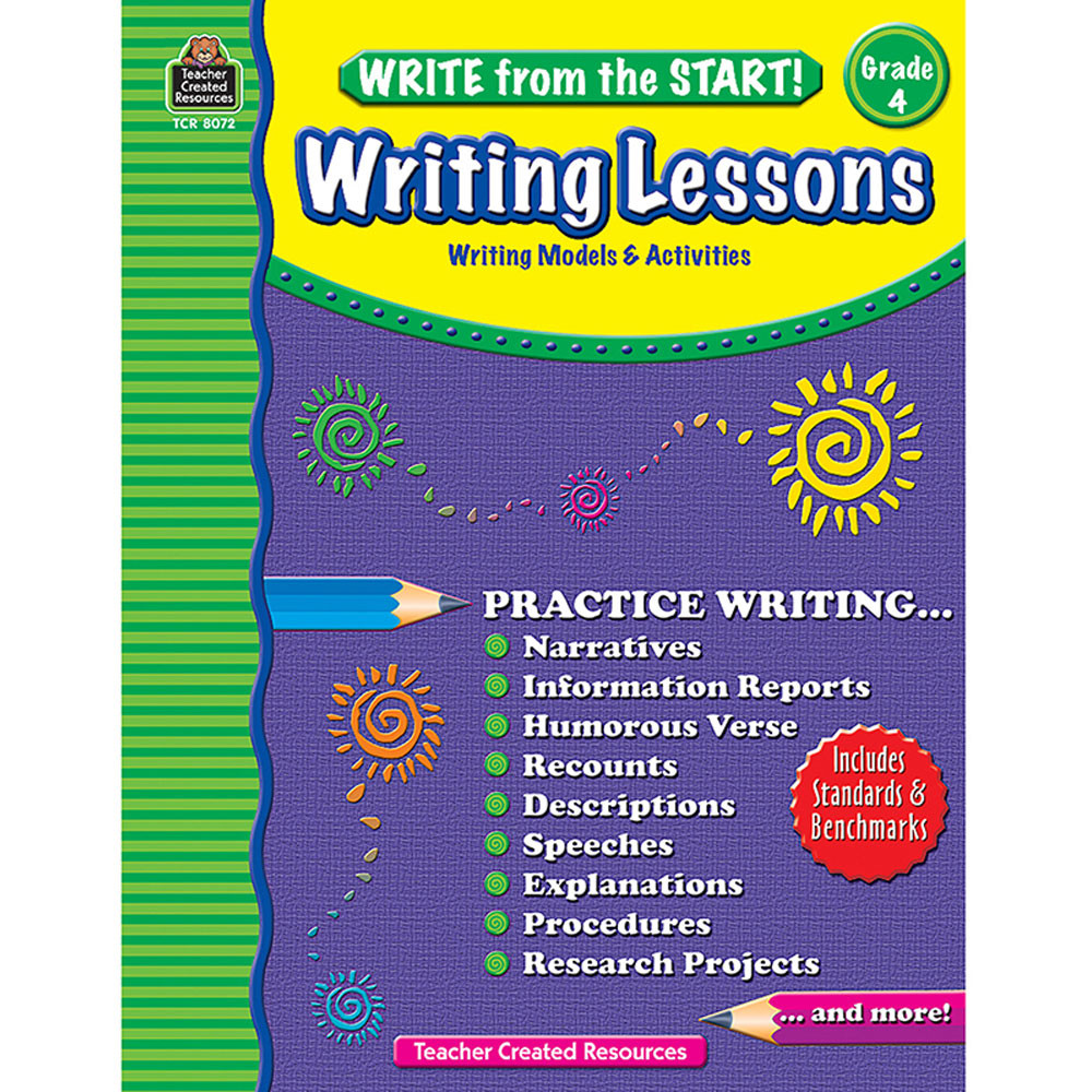 TCR8072 - Write From The Start Gr 4 Writing Lesson in Writing Skills