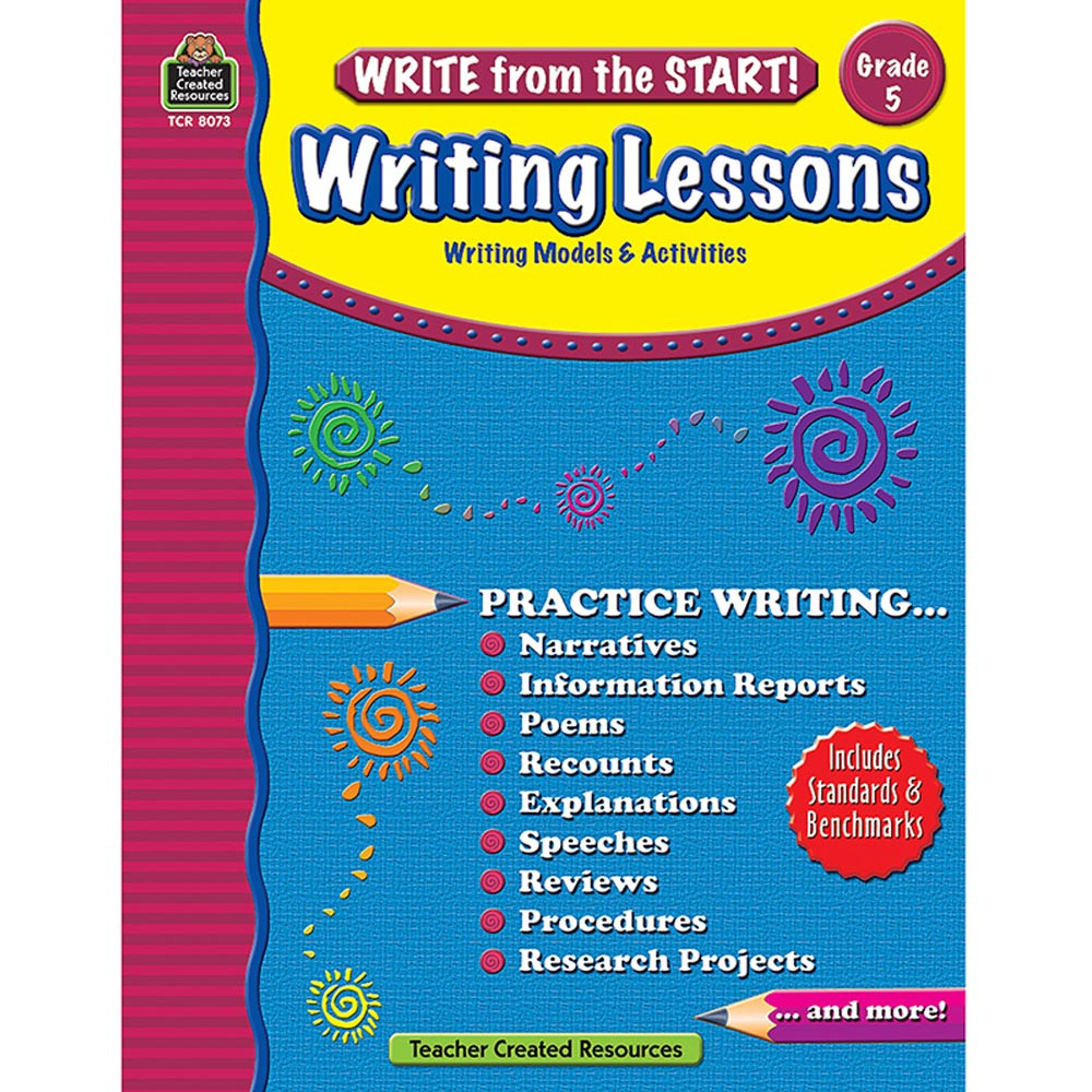TCR8073 - Write From The Start Gr 5 Writing Lesson in Writing Skills