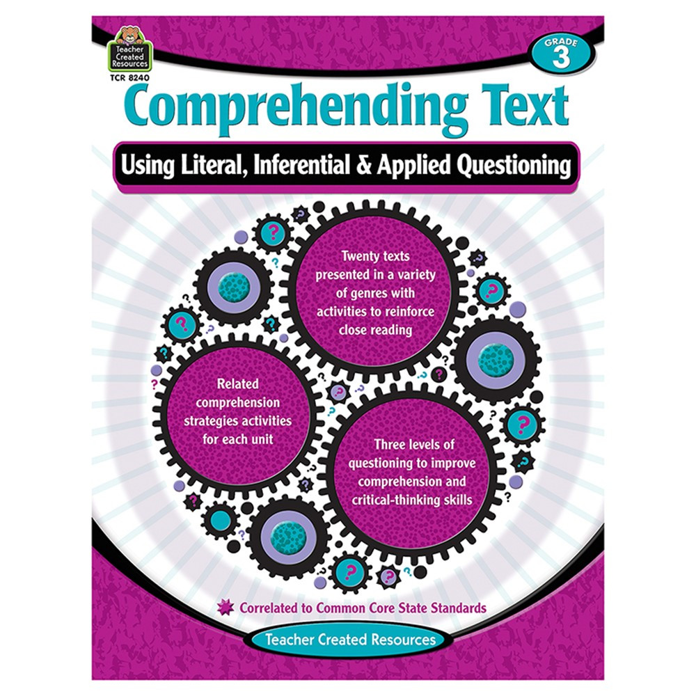 TCR8240 - Comprehending Text Gr 3 in Comprehension