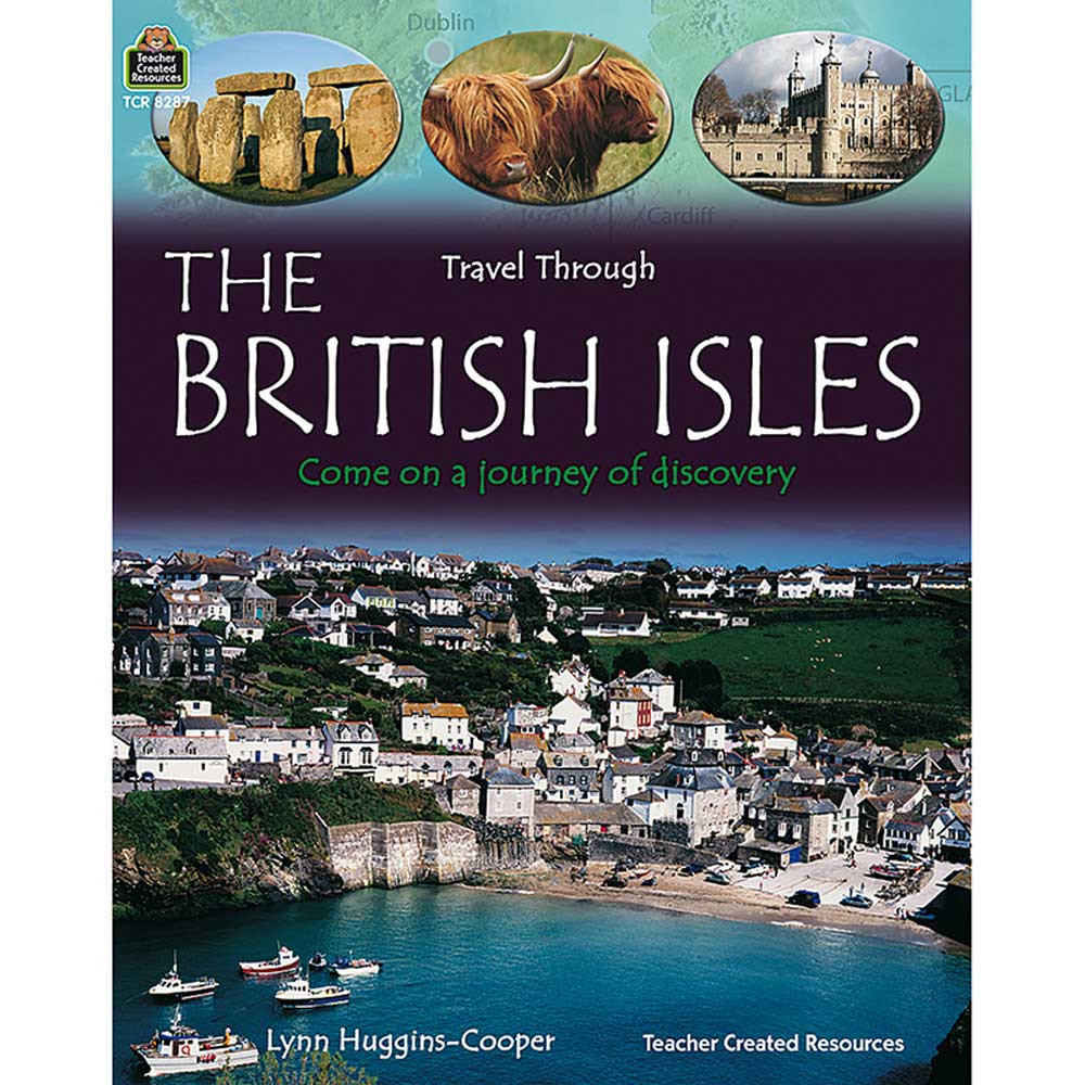 TCR8287 - Travel Through The British Isles Gr 3 & Up in Geography
