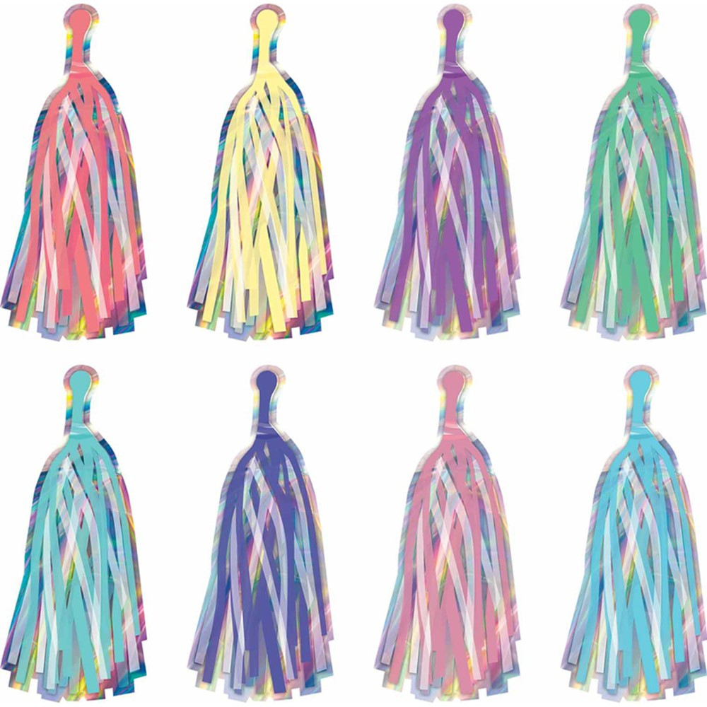 Iridescent Tassels Accents - TCR8806 | Teacher Created Resources | Accents