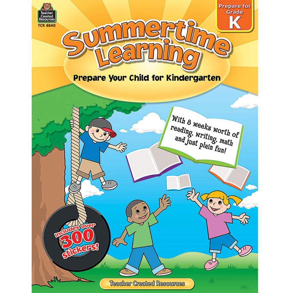 TCR8840 - Summertime Learning Gr K in Skill Builders