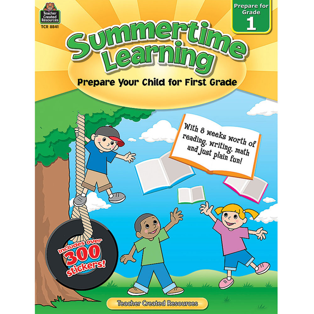 TCR8841 - Summertime Learning Gr 1 in Skill Builders