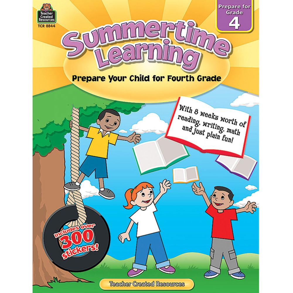TCR8844 - Summertime Learning Gr 4 in Skill Builders