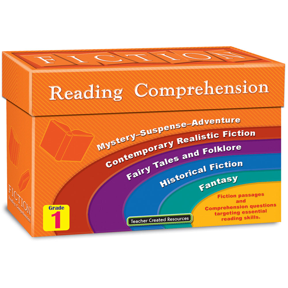 TCR8871 - Fiction Reading Comprehension Cards Gr 1 in Comprehension