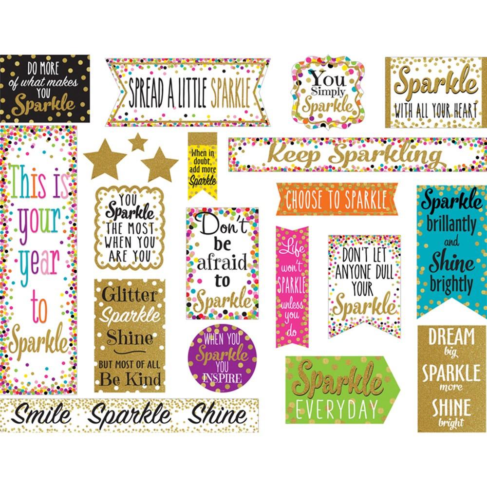 TCR8962 - Confetti Sparkle And Shine Mini Bb in Classroom Theme
