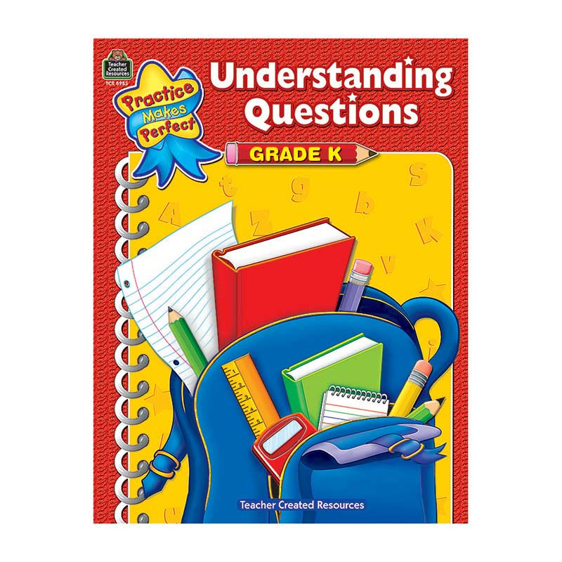 TCR8985 - Pmp Understanding Questions Gr K in Skill Builders