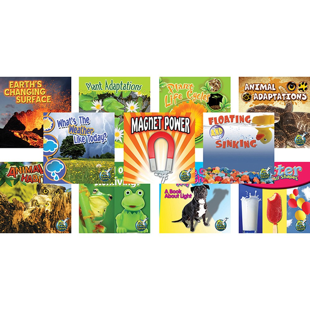 TCR90002 - My Science Library Set Of 11 Gr 1-2 in Activity Books & Kits