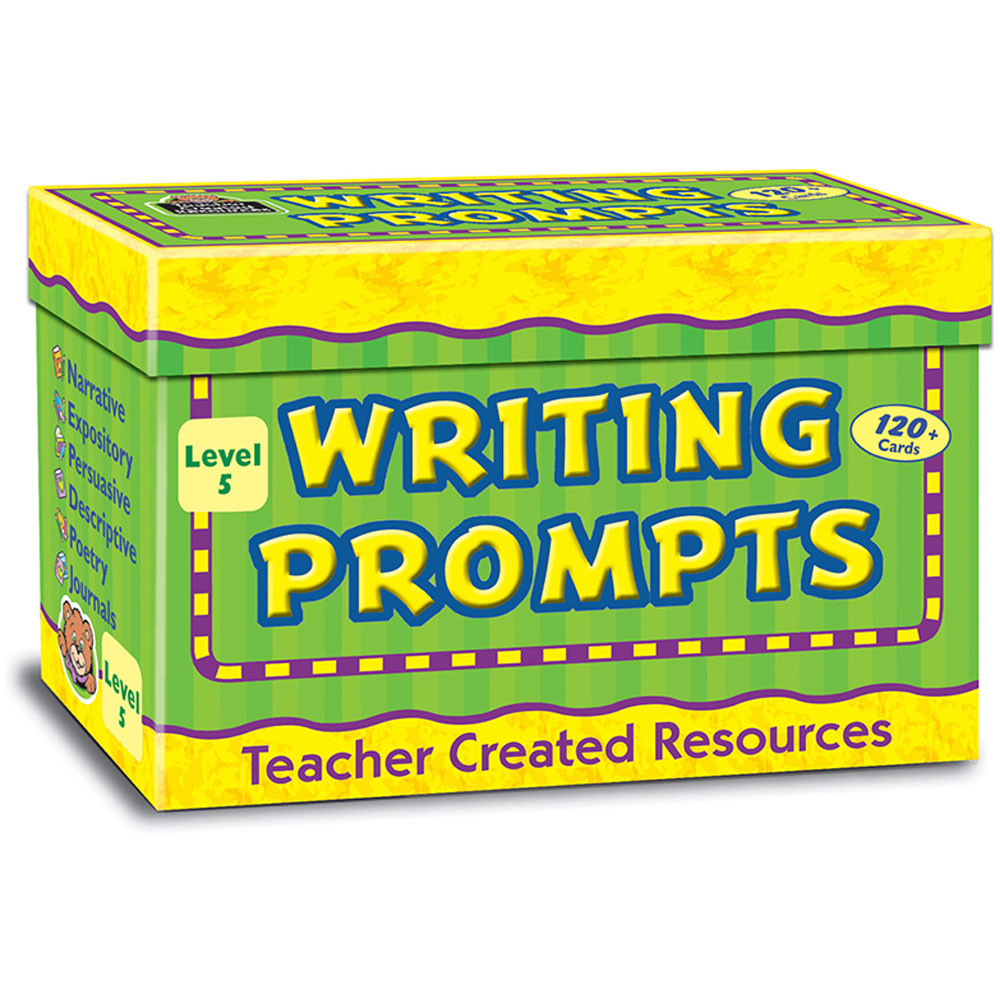 TCR9005 - Writing Prompts Level 5 in Writing Skills