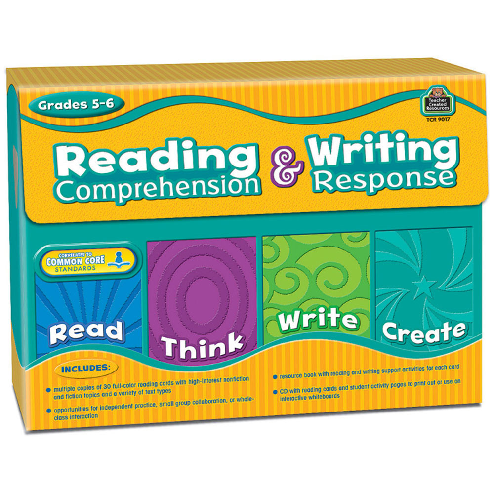 - Reading Comprehension & Writing Response (Gr. 5?6) - TCR9017