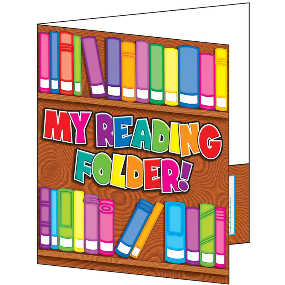 TF-1726 - Pocket Folder My Reading Folder in Folders