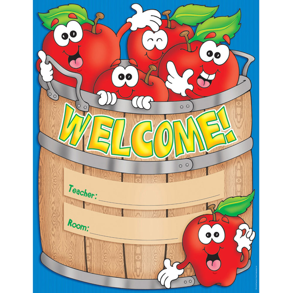 TF-2102 - Welcome Basket Chart in Classroom Theme