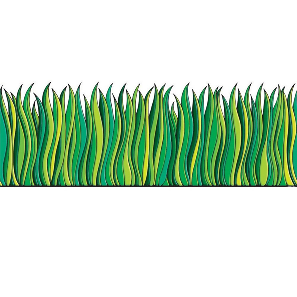 TF-3302 - Tall Green Grass Accent Punch Outs in Accents