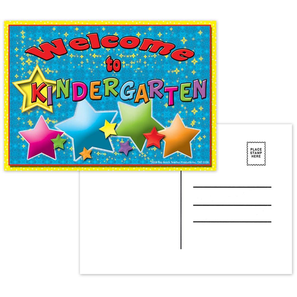 TOP5116 - Postcards Welcome To Kindergarten in Postcards & Pads