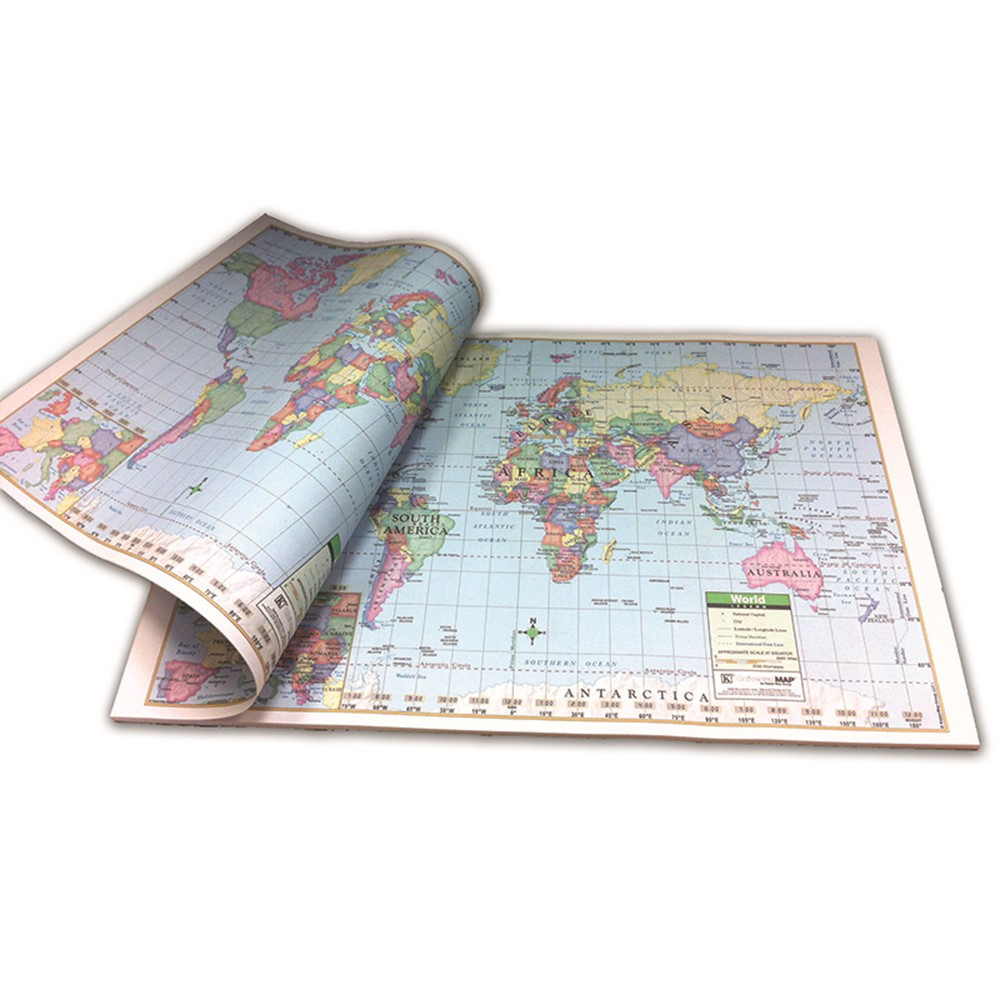 UNI16310 - World Study Pads in Maps & Map Skills