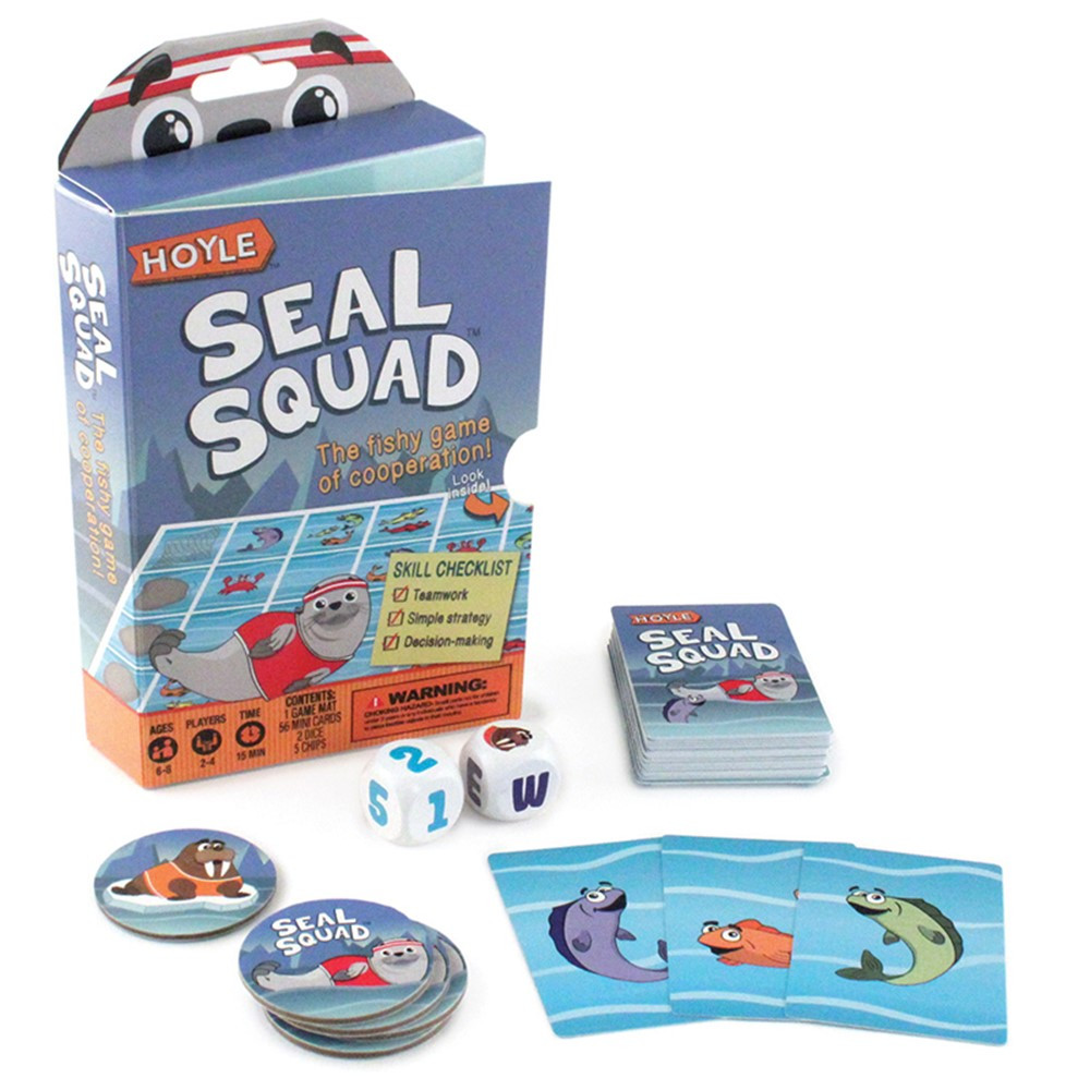 Seal Squad Children's Game - USP1042677   United States Playing Card Co   Card Games