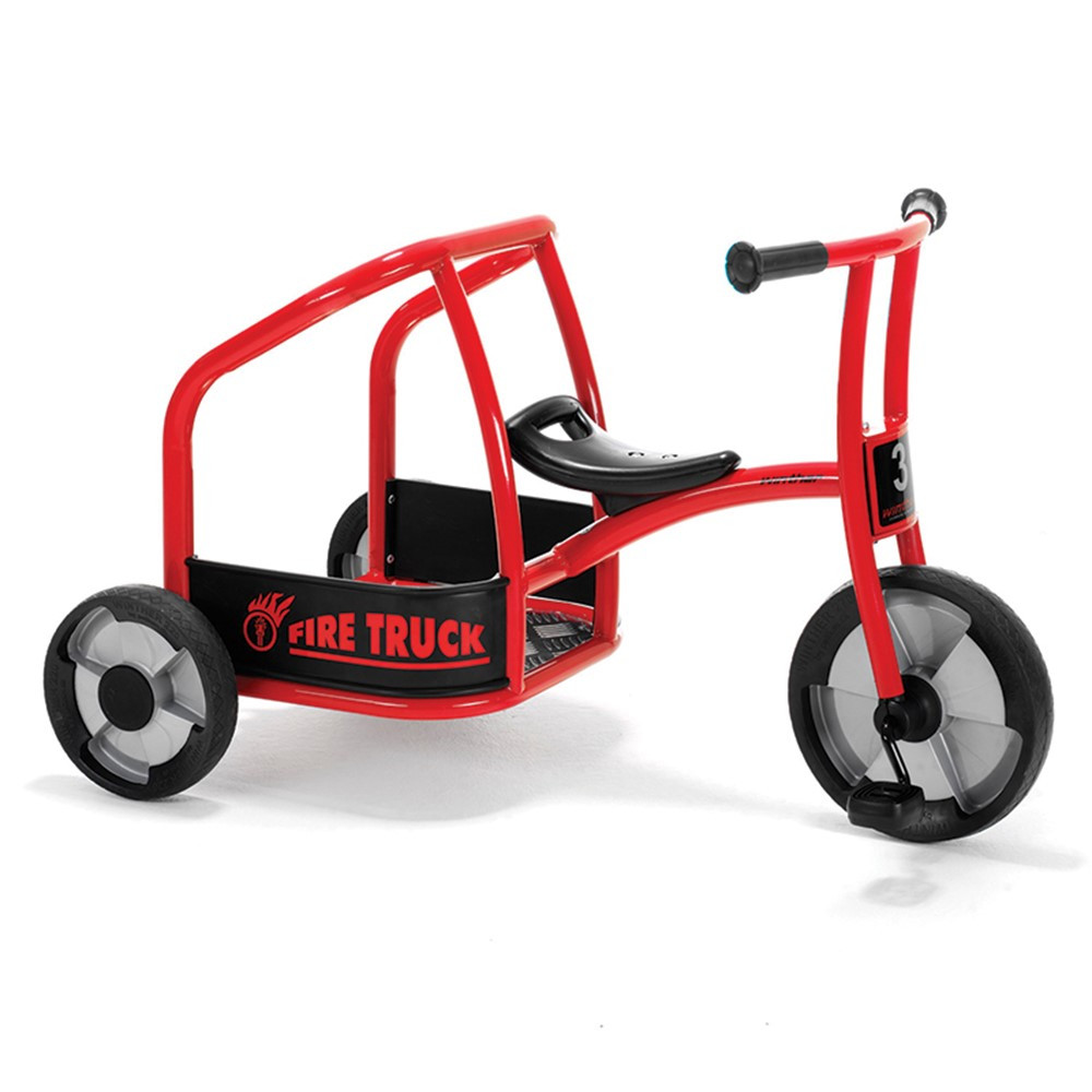 WIN563 - Fire Truck Tricycle in Tricycles & Ride-ons