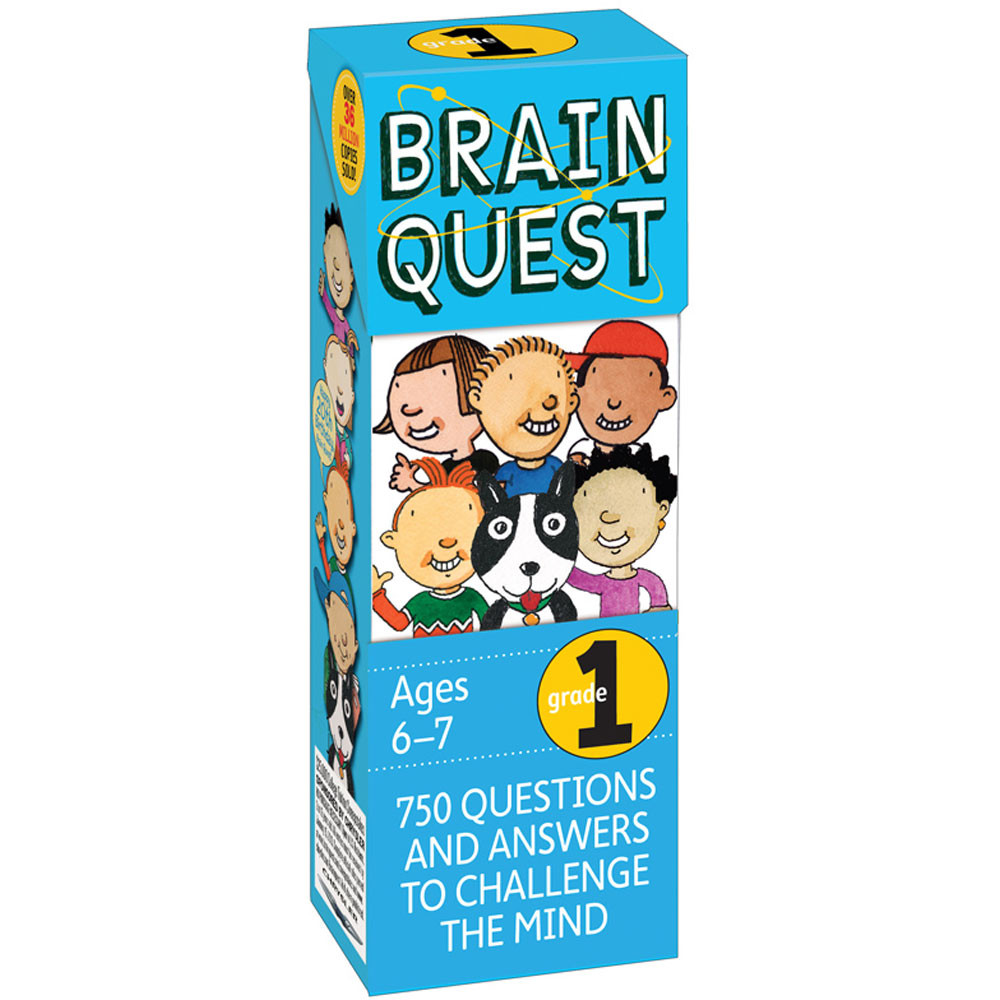 WP-16651 - Brain Quest Gr 1 in Games & Activities