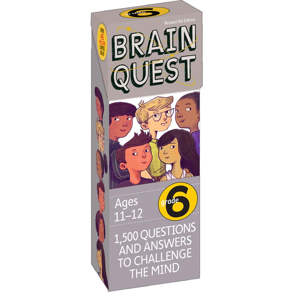 WP-16656 - Brain Quest Gr 6 in Games & Activities