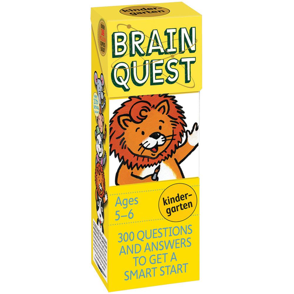 WP-16660 - Brain Quest Gr K in Games & Activities