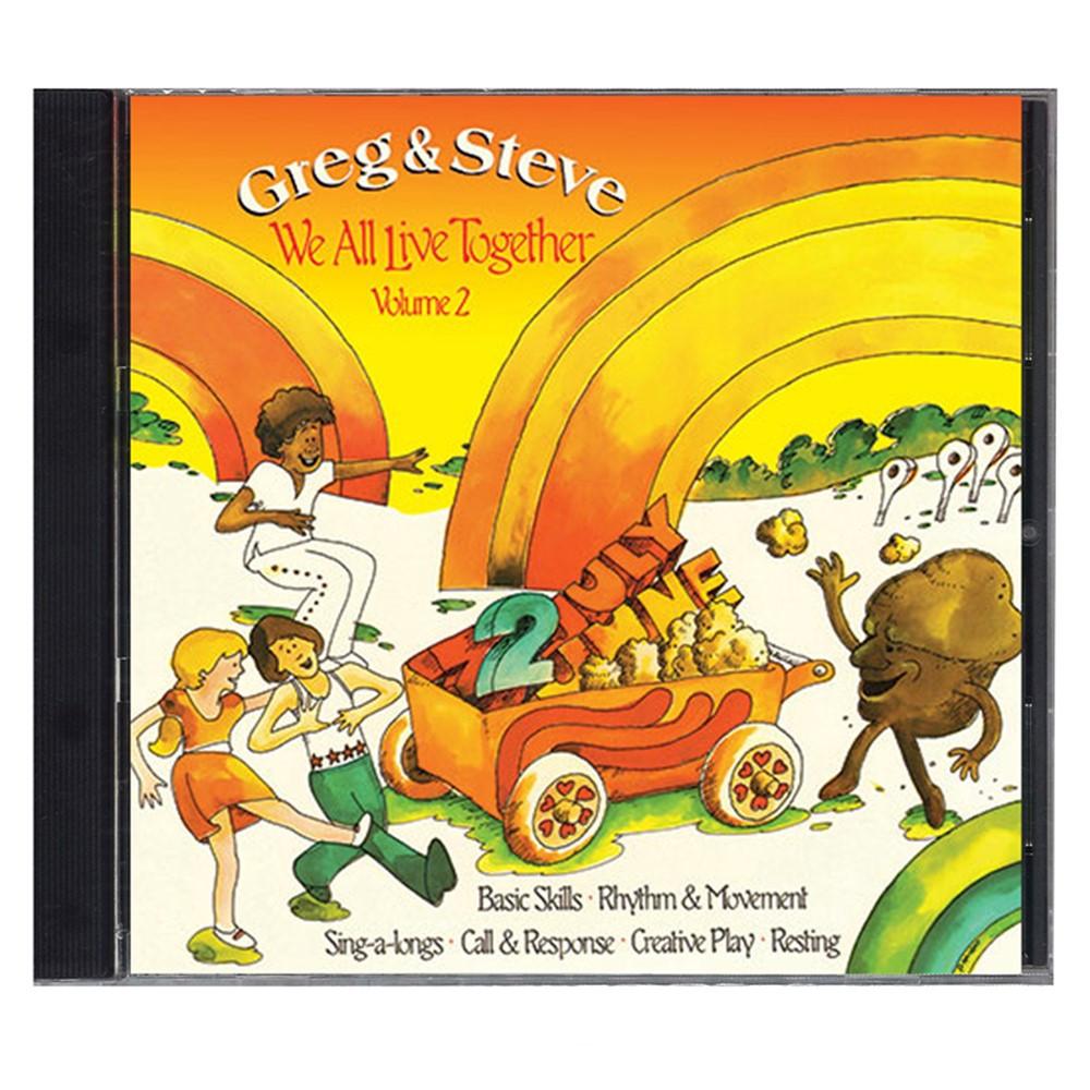 YM-002CD - We All Live Together Volume 2 Cd Greg & Steve in Cds