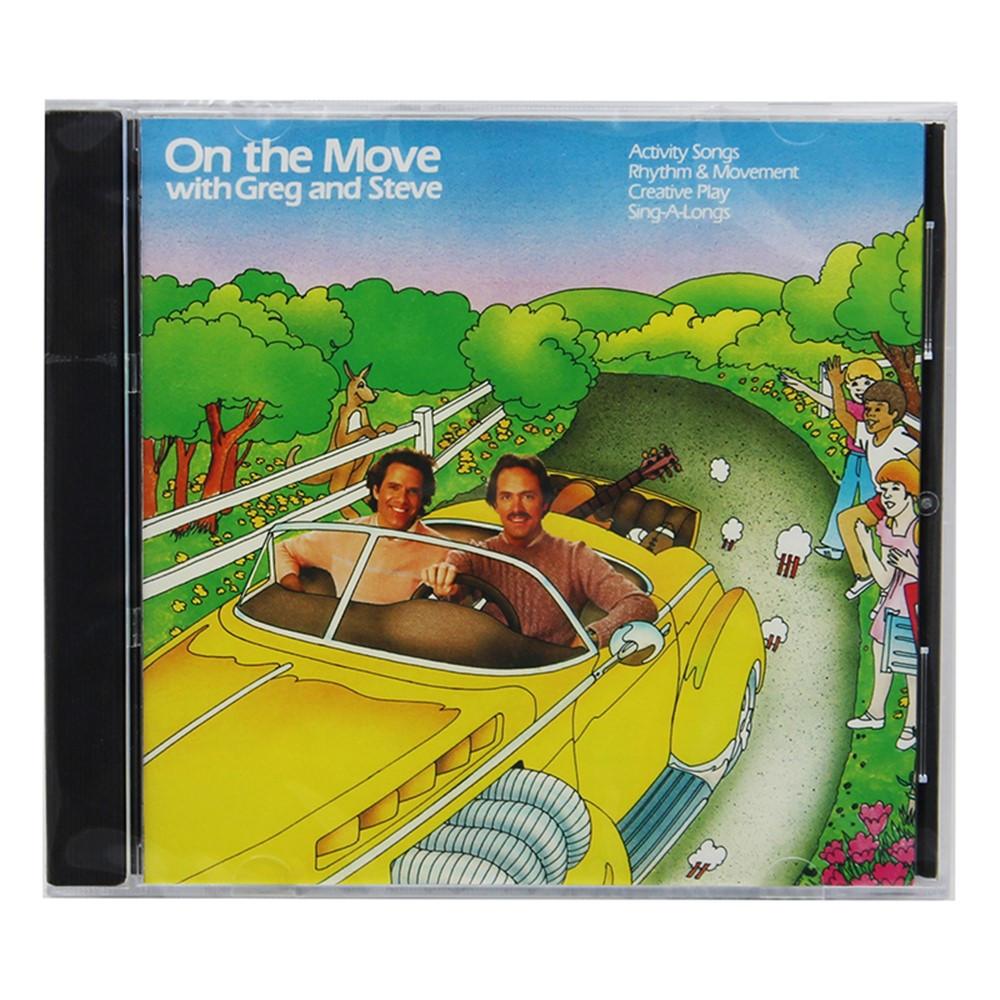 YM-005CD - On The Move Cd Greg & Steve in Cds