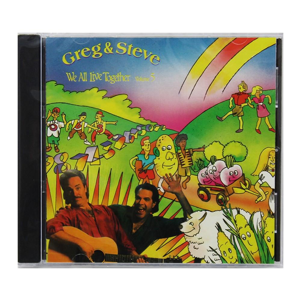YM-014CD - We All Live Together Volume 5 Cd Greg & Steve in Cds
