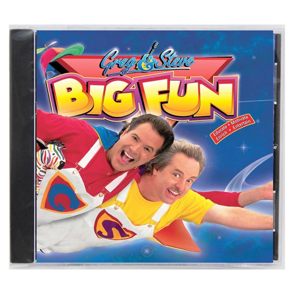 YM-016CD - Greg & Steve Big Fun Cd in Cds
