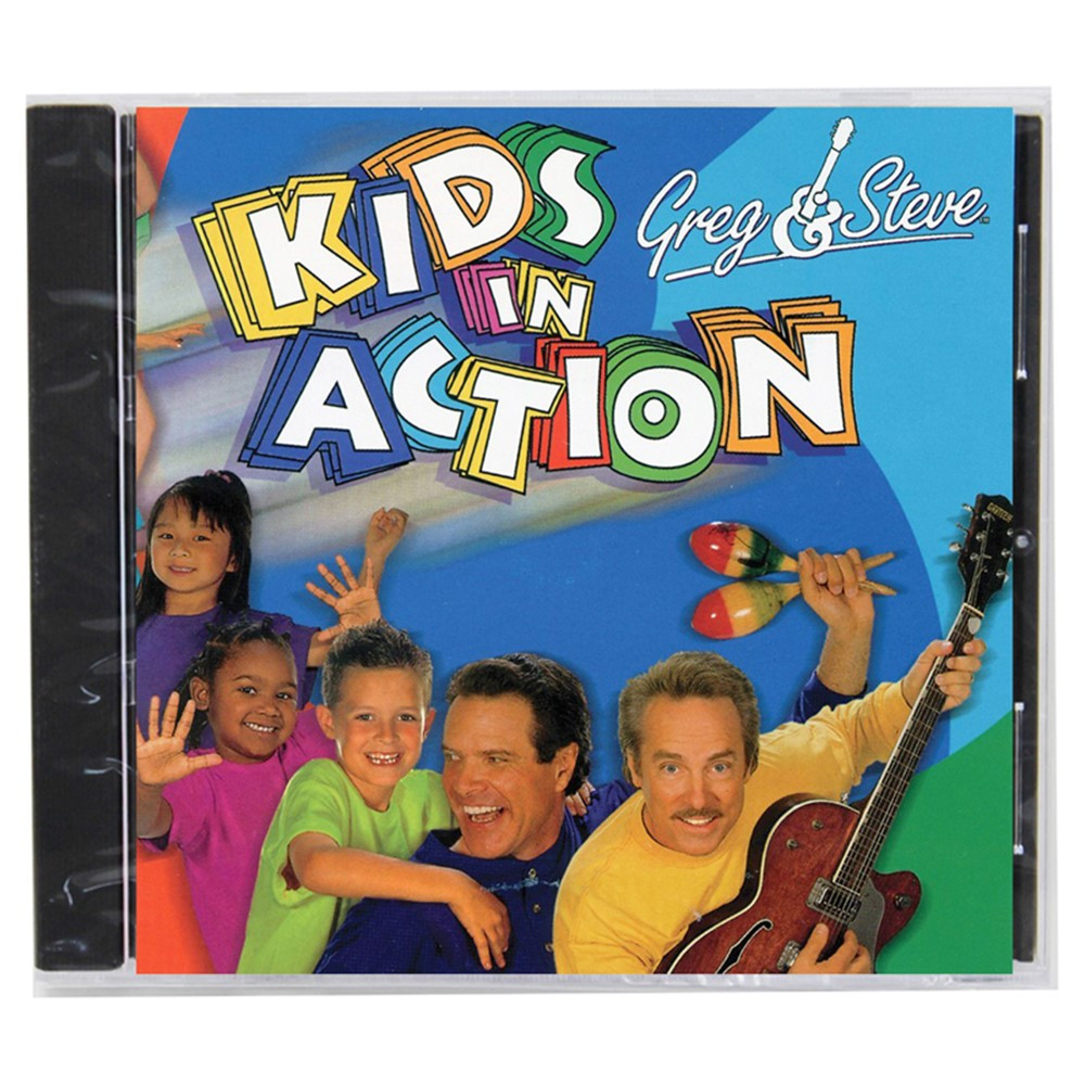 Greg Amp Steve Kids In Action Cd Ym 017cd Greg Amp Steve