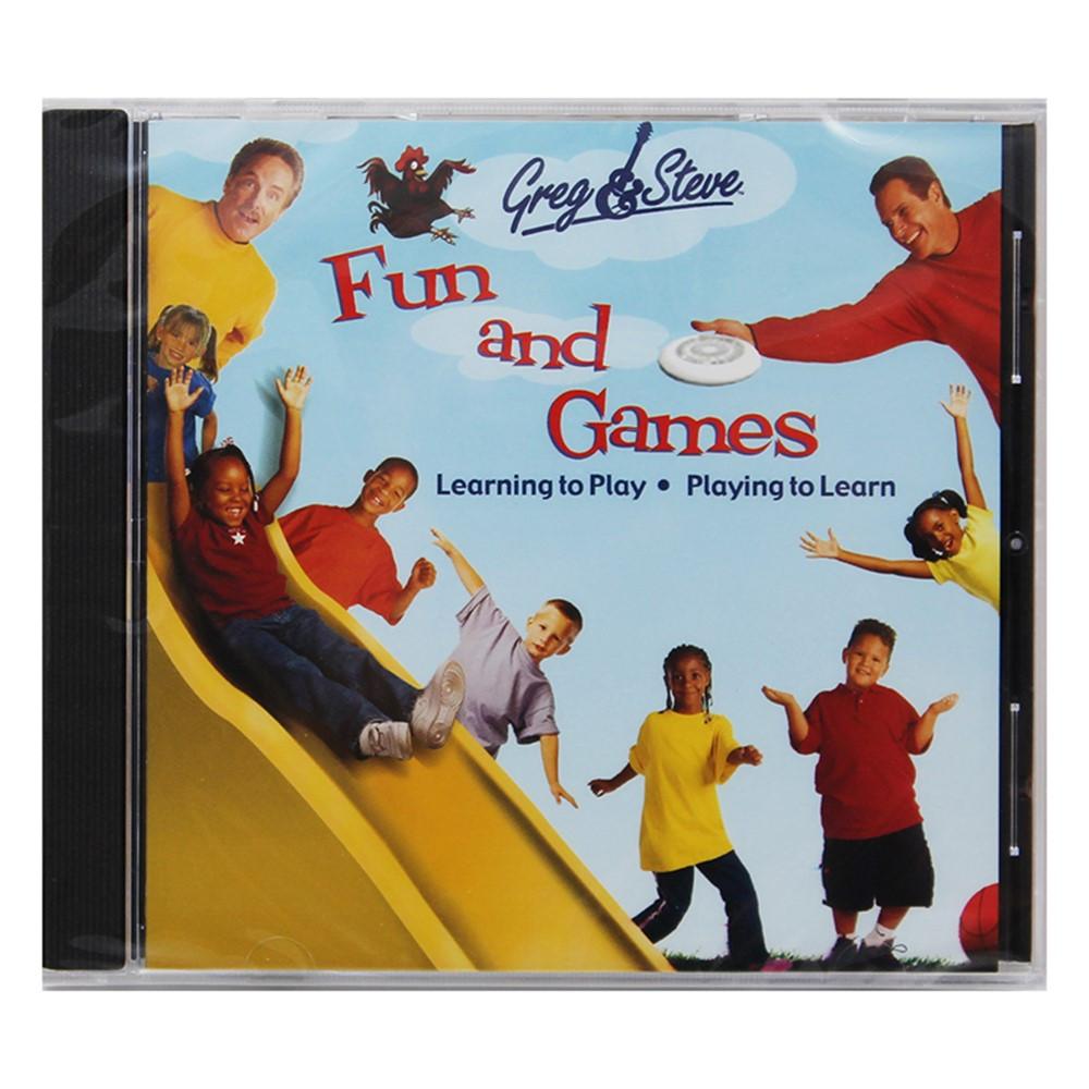 YM-018CD - Greg & Steve Fun And Games Cd in Cds