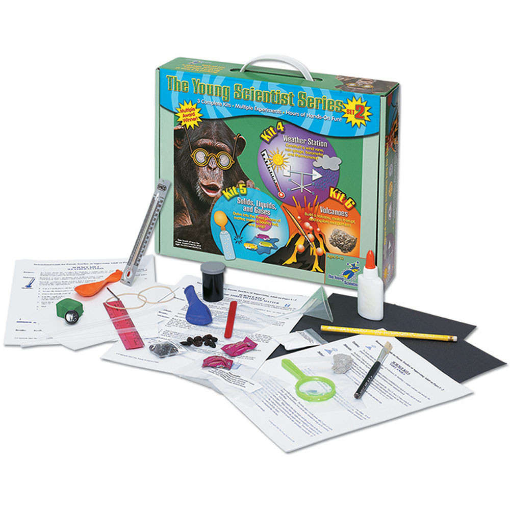 YS-1102 - The Young Scientist Series Set 2 in Activity Books & Kits