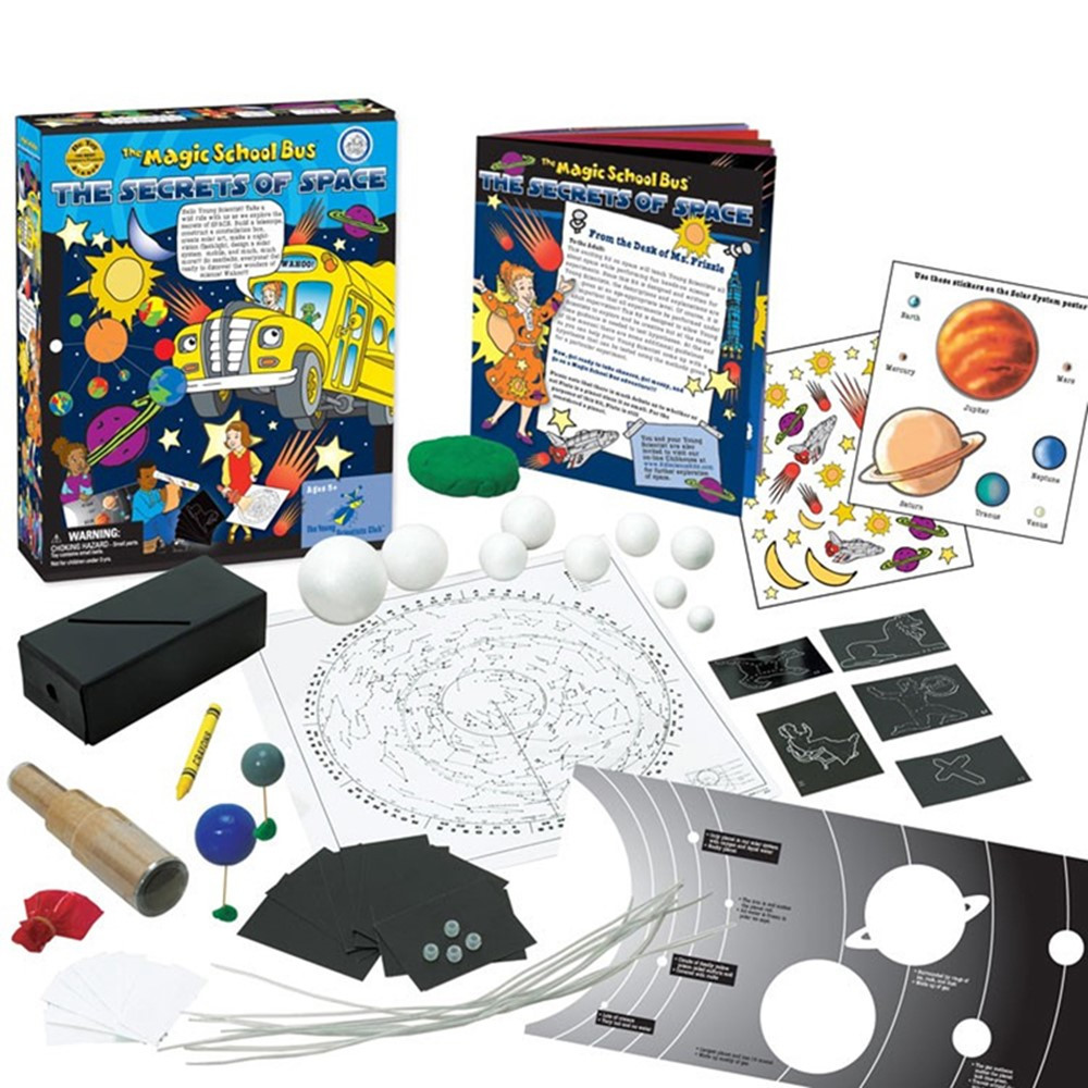 YS-WH9251127 - The Magic School Bus The Secrets Of Space Kit in Activity Books & Kits