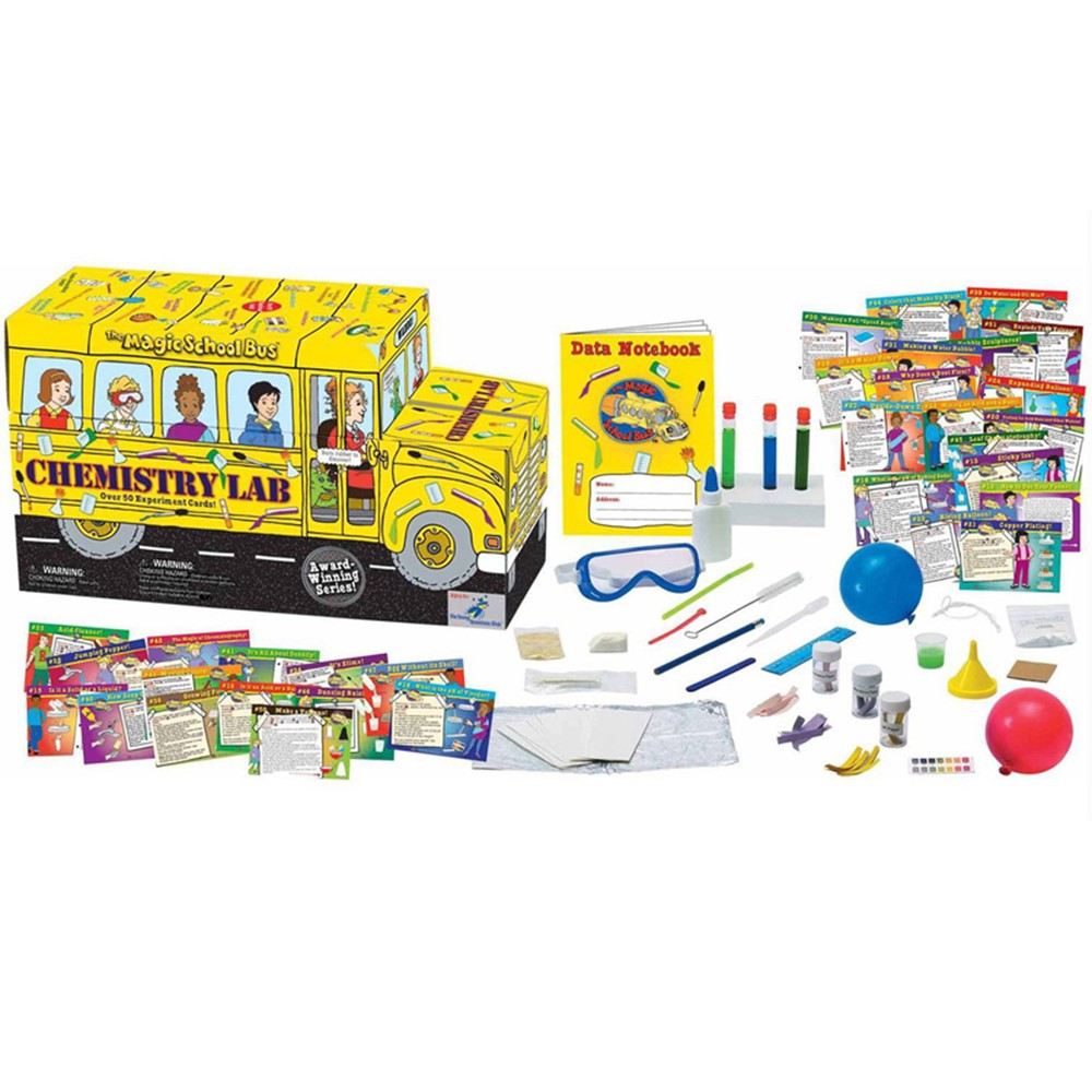 YS-WH9251142 - The Magic School Bus Chemistry Lab in Experiments